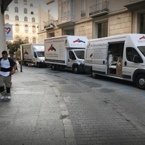 transportes mercancías ávila